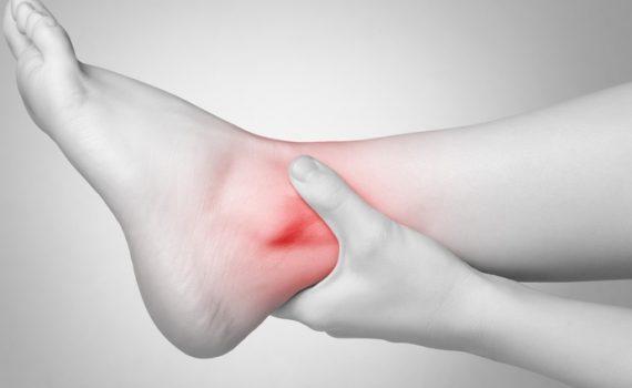 caviglia e blocco articolare
